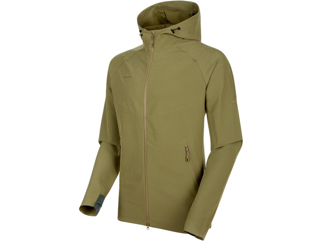 Mammut Macun SO Chaqueta con Capucha Hombre, olive